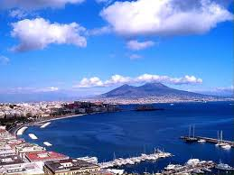 bella Napoli...all I can say is Vesuvius better behave herself while we're down there! ;) That's the LAST thing I need!